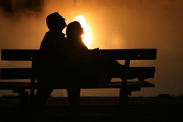 Влюбленные картинки на закате   подборка фото 026