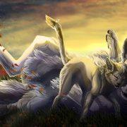Волки аниме красивые картинки и обои (24)