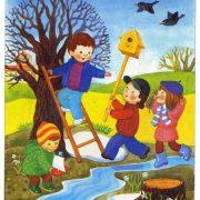 Времена года весна картинки для детского сада 024