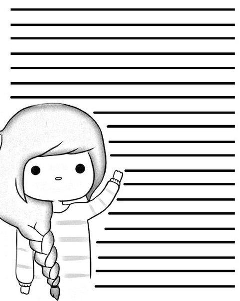 Все для личного дневника   картинки распечатать черно белые (19)