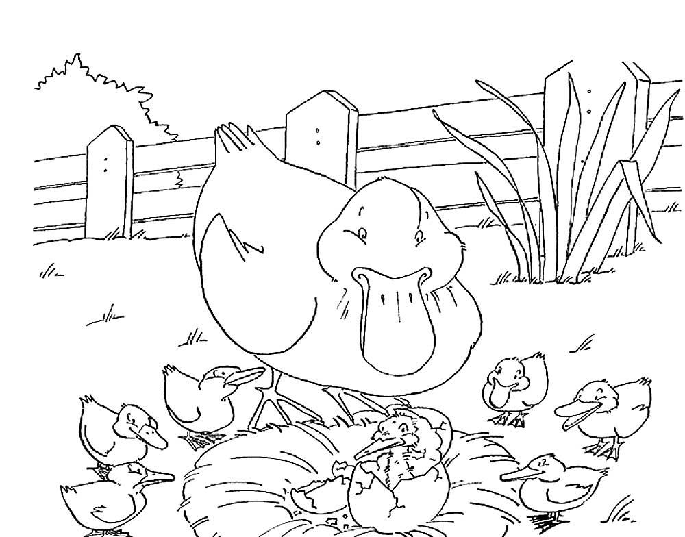 картинки к сказке гадкий утенок рисовать мнению эвелины