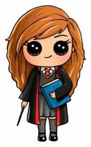 Гарри Поттер рисунки пастелью   подборка 025