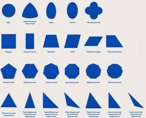Геометрические фигуры картинки с названиями 026