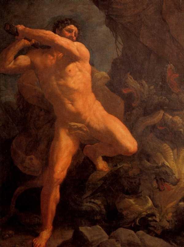 Геракл и лев картинки   подборка 005