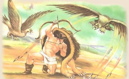 Геракл и лев картинки   подборка 008