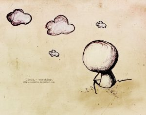 Грустные картинки карандашом про любовь 029