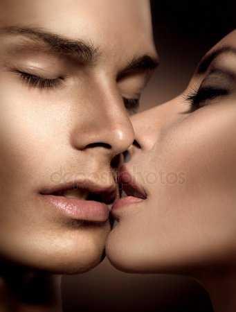 Губы мужские поцелуй картинки 014