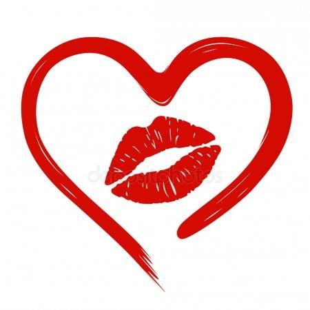 Губы мужские поцелуй картинки 021