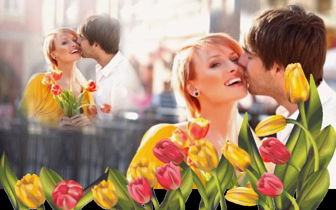Дарите женщинам цветы картинки и открытки 006