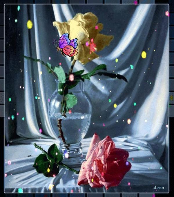 Дарите женщинам цветы картинки и открытки 008