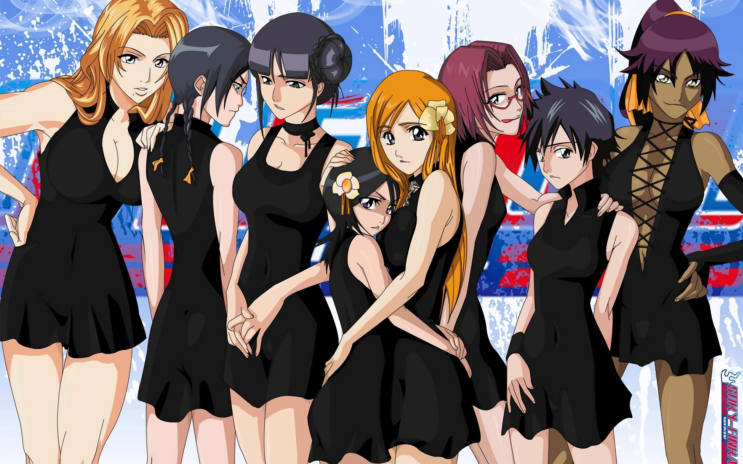 Девочки аниме на рабочий стол обои (2)