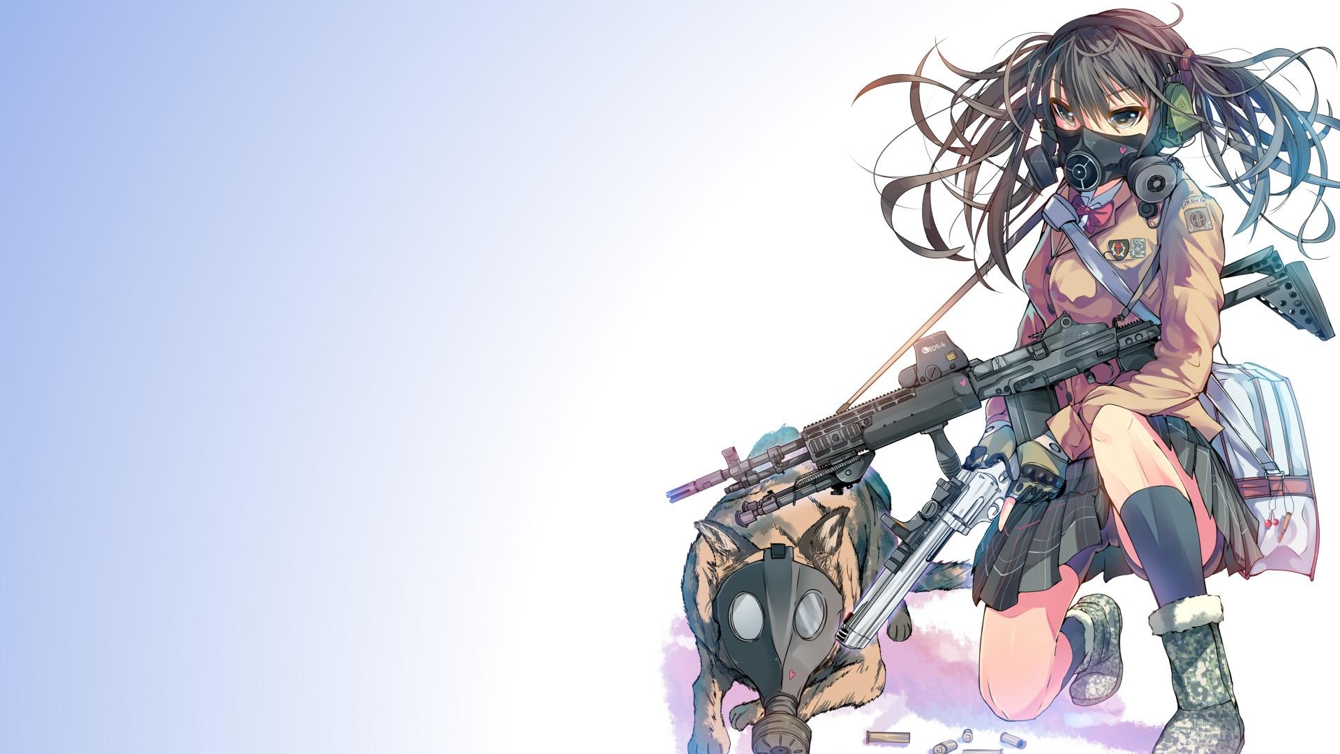 Девочки аниме на рабочий стол обои (20)