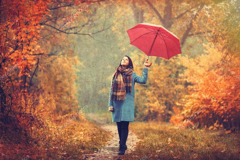Девушка и дождь   красивые фото (1)