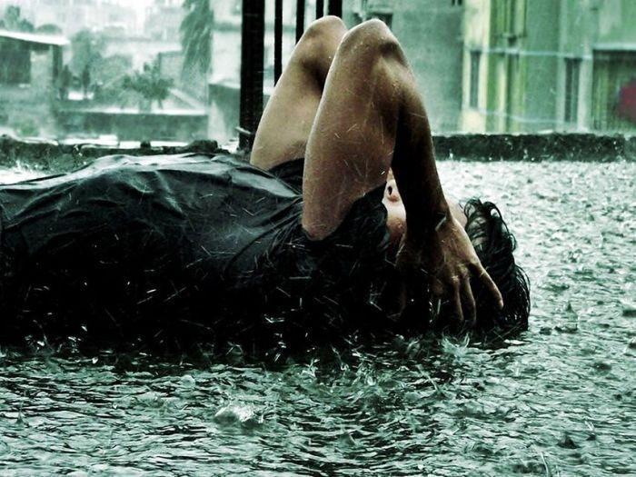 Девушка и дождь   красивые фото (15)