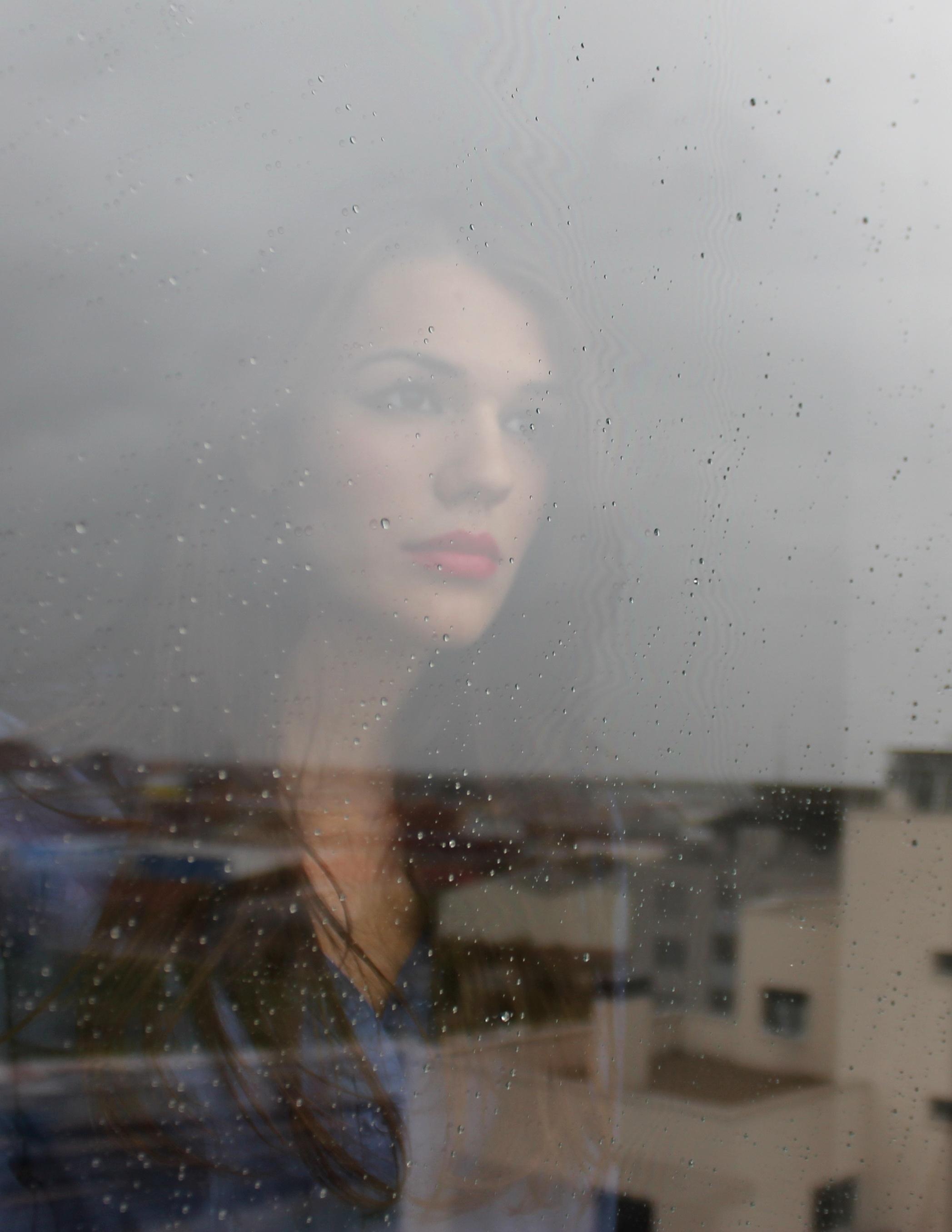 Девушка и дождь   красивые фото (25)