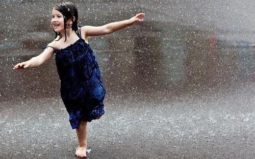 Девушка и дождь   красивые фото (26)