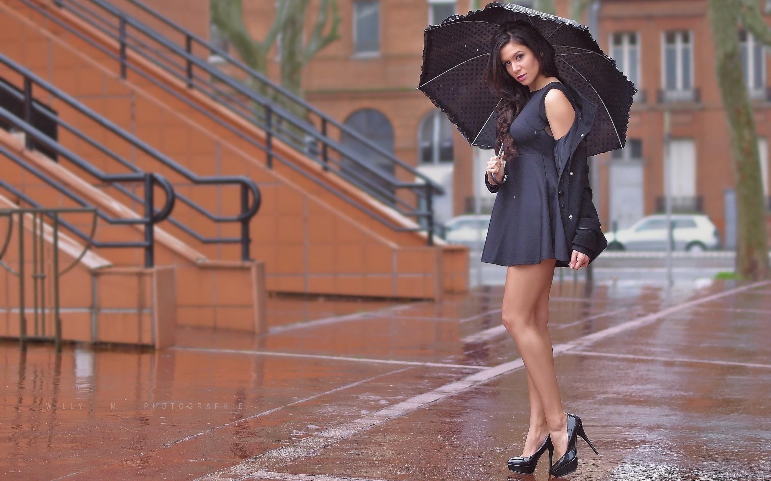 Девушка и дождь   красивые фото (27)