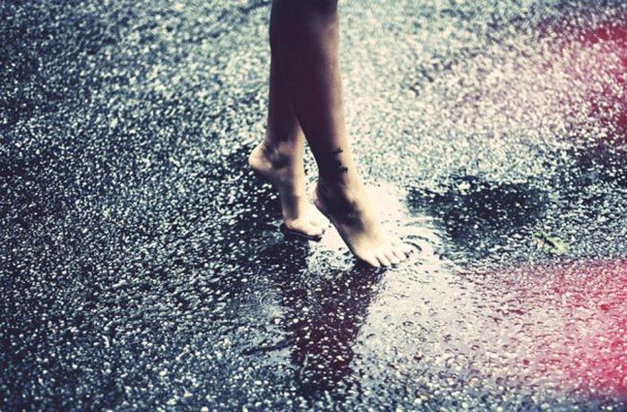 Девушка и дождь   красивые фото (3)