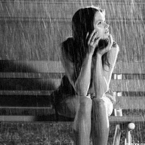 Девушка и дождь   красивые фото (4)