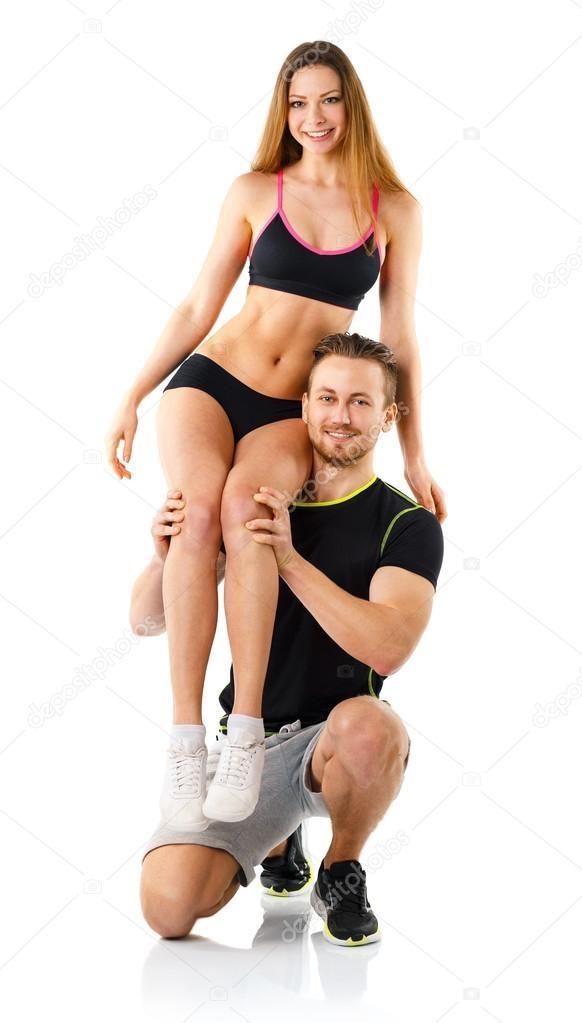 Девушка сидит на плечах у парня   фото (26)