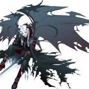 Девушка с крыльями дракона   красивые арты027