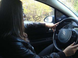 Девушки без лица в машине   красивые фото 022