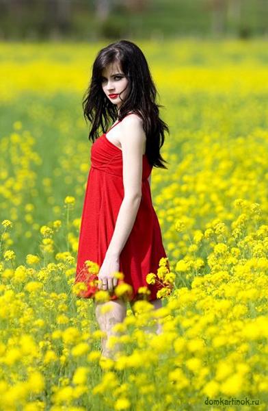 Девушки в красивых платьях на аву   подборка фото (23)