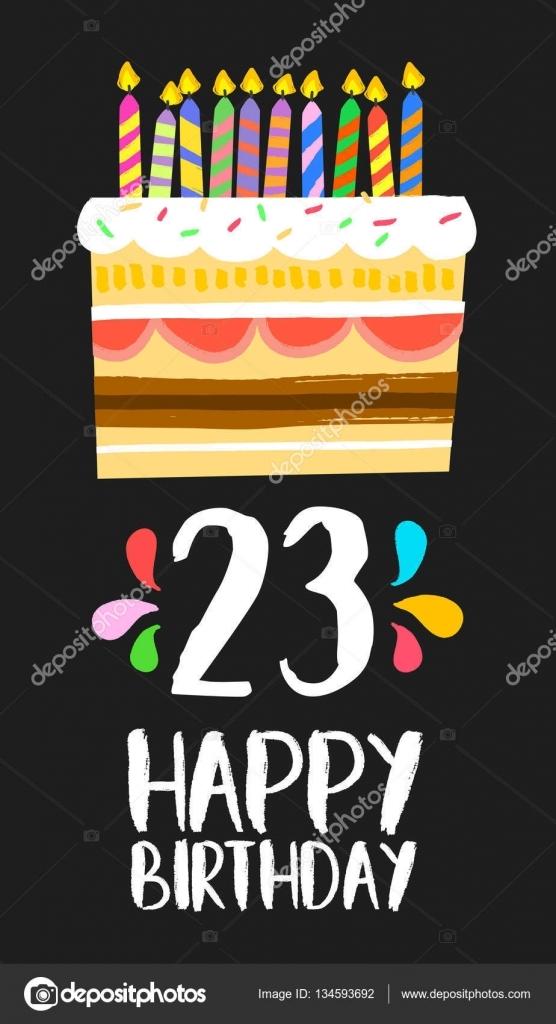 День Рождения 23 года картинки и открытки 022