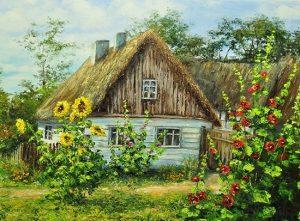 Деревня в картинках для детей 026