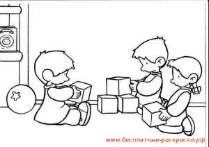 Дети играют в кубики картинки   скачать фото 027