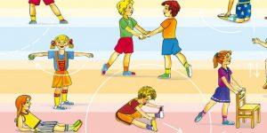 Дети на зарядке картинки и рисунки023
