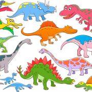 Динозаврики для детей картинки и рисунки 029