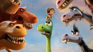 Динозавр в городе картинки и арты крутые 028