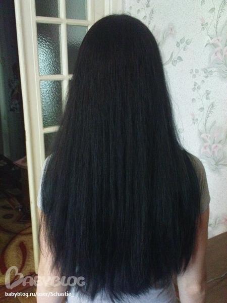 Длинные волосы черные со спины фото 010
