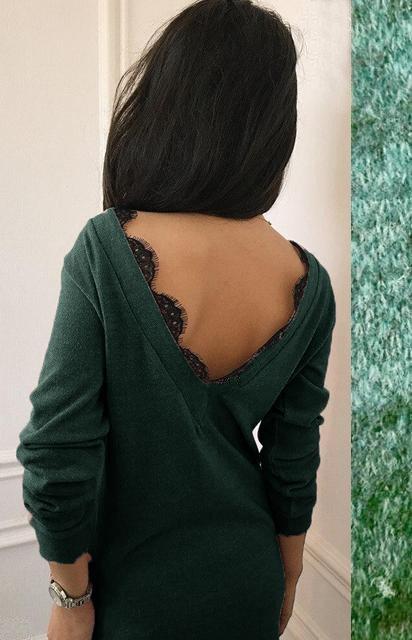 Длинные волосы черные со спины фото 013