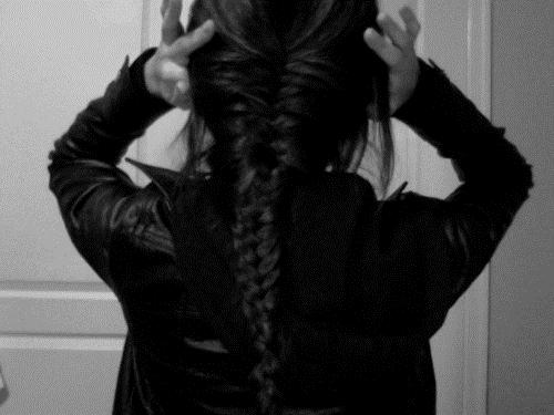 Длинные волосы черные со спины фото 015