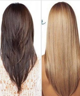 Длинные волосы черные со спины фото 019
