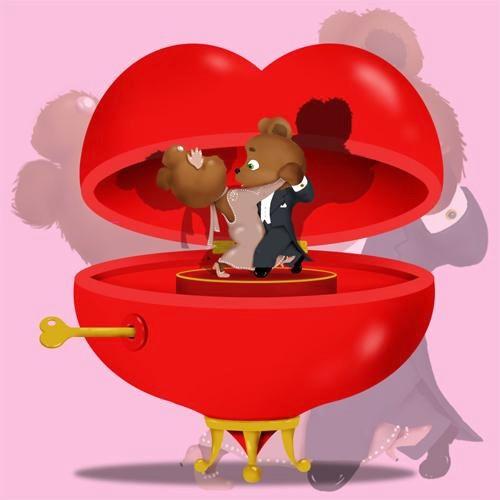 Валентинки картинки прикольные анимированные подруге, открытка