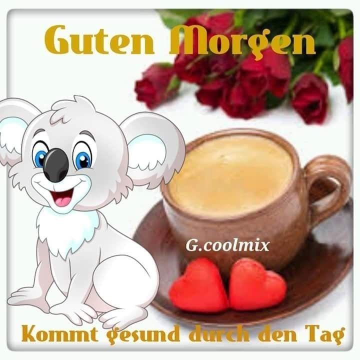 Открытка доброе утро на немецком языке, христовым воскресеньем