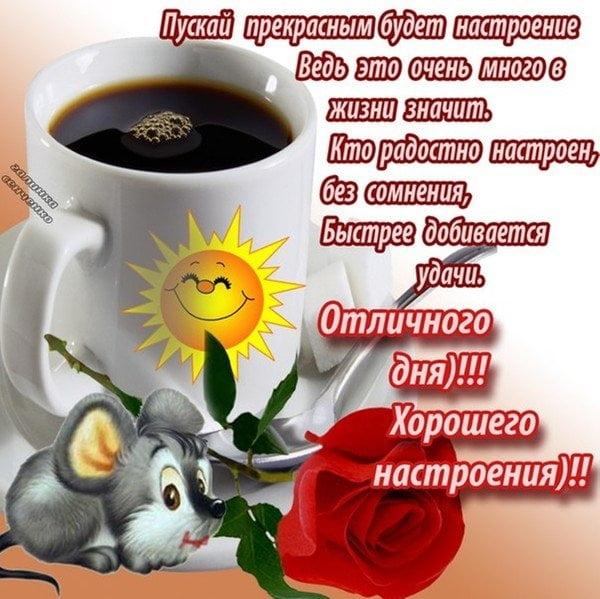Доброе утро отличного настроения и прекрасного дня.   картинки 001