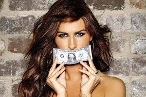 Женщина и деньги картинки 027