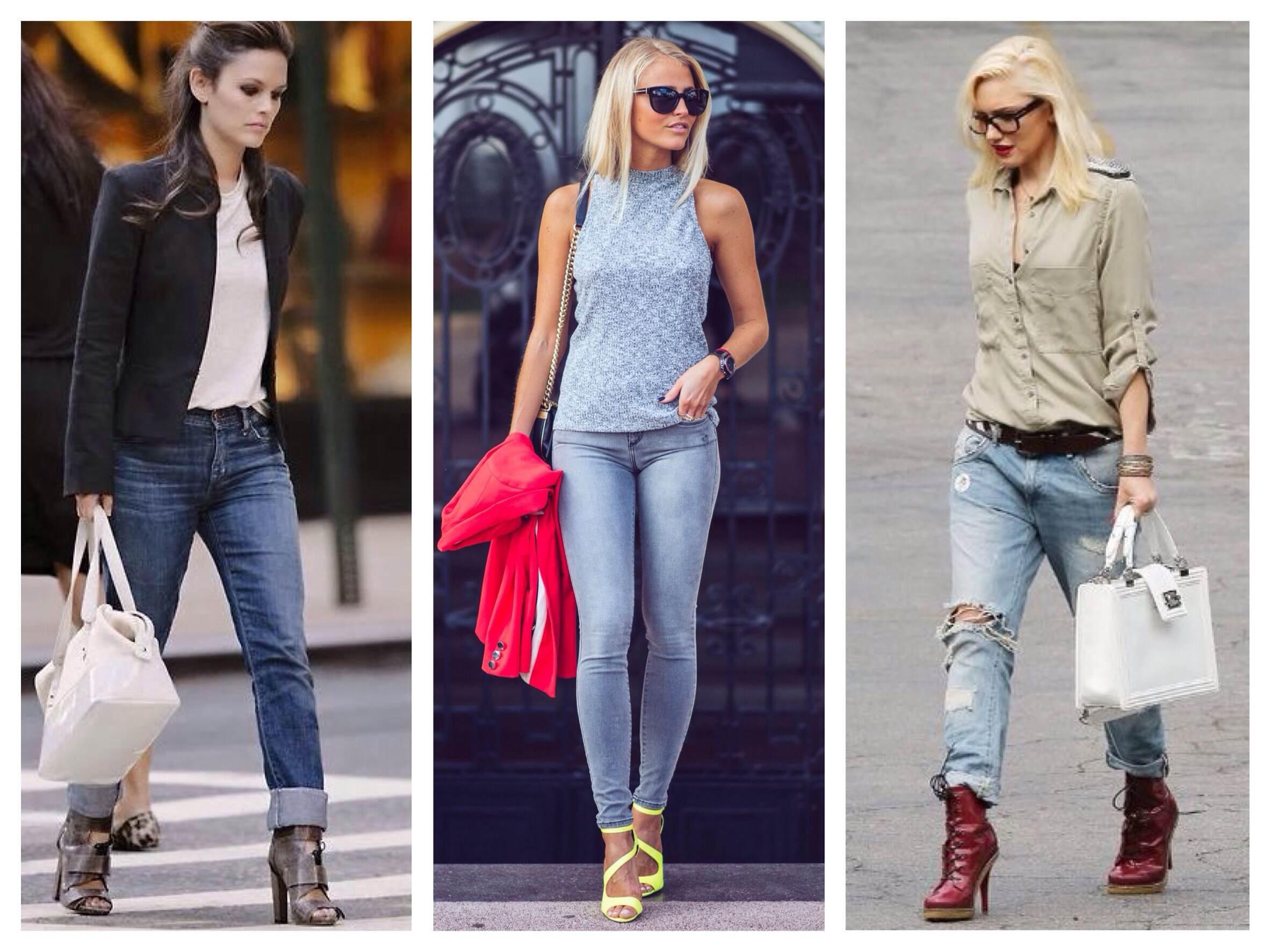Женщины в обтягивающих штанах на каблуках   фото (22)