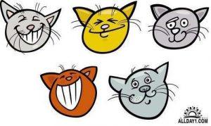 Забавные животные картинки нарисованные 024