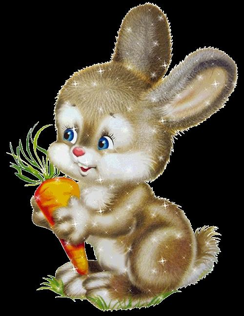 Картинки заяц для детей анимация, открытка