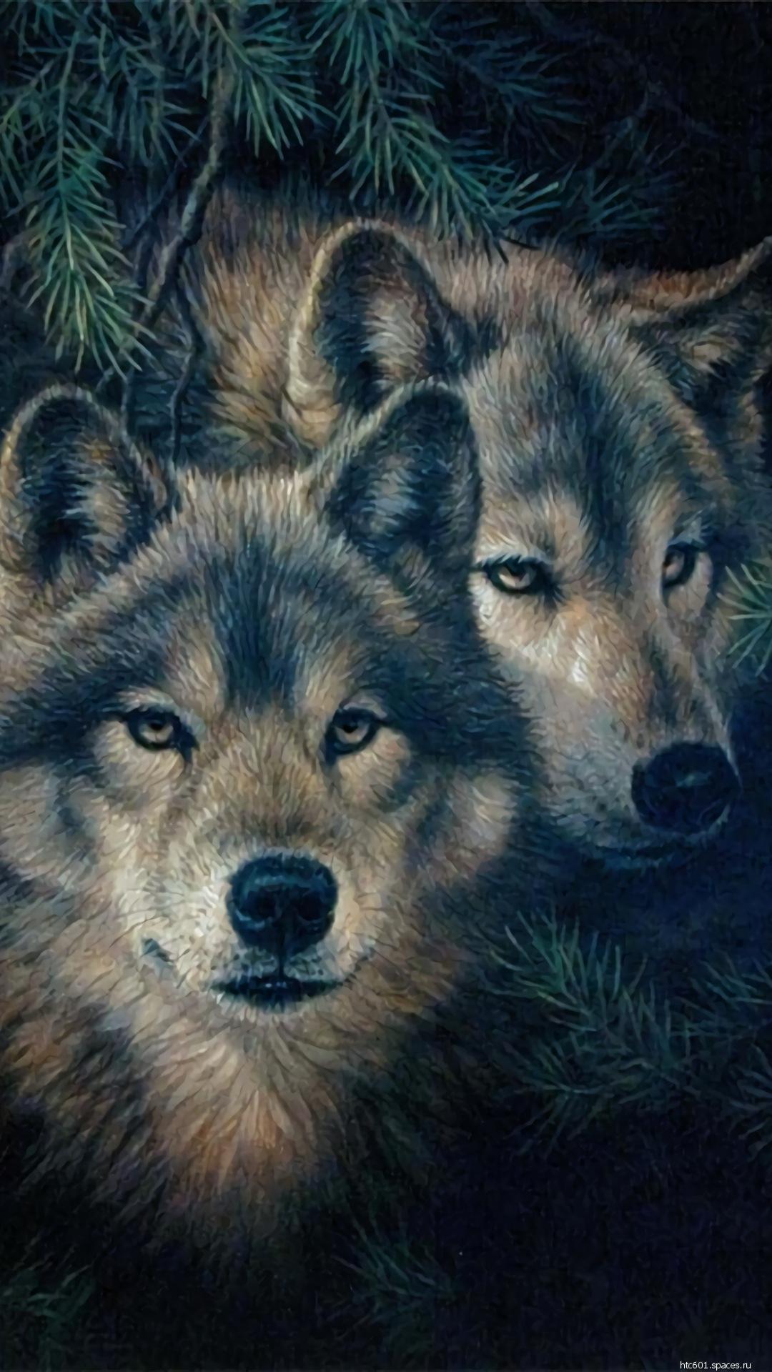 Заставки на телефон скачать волки (7)