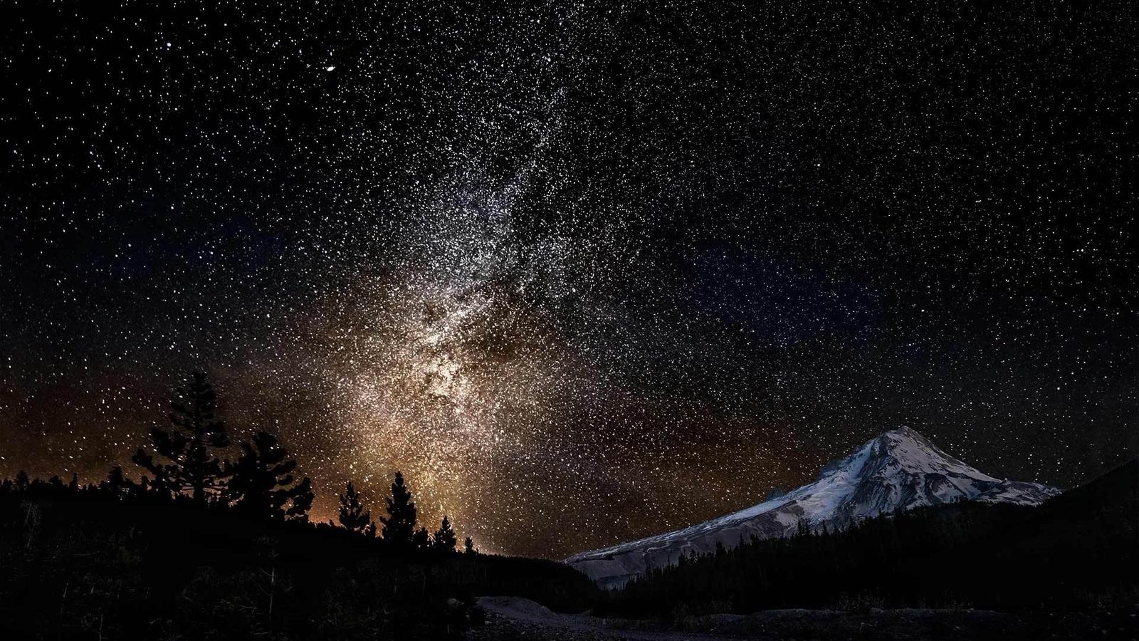 самый красивое звездное небо картинка на рабочий стол узнать, как часто
