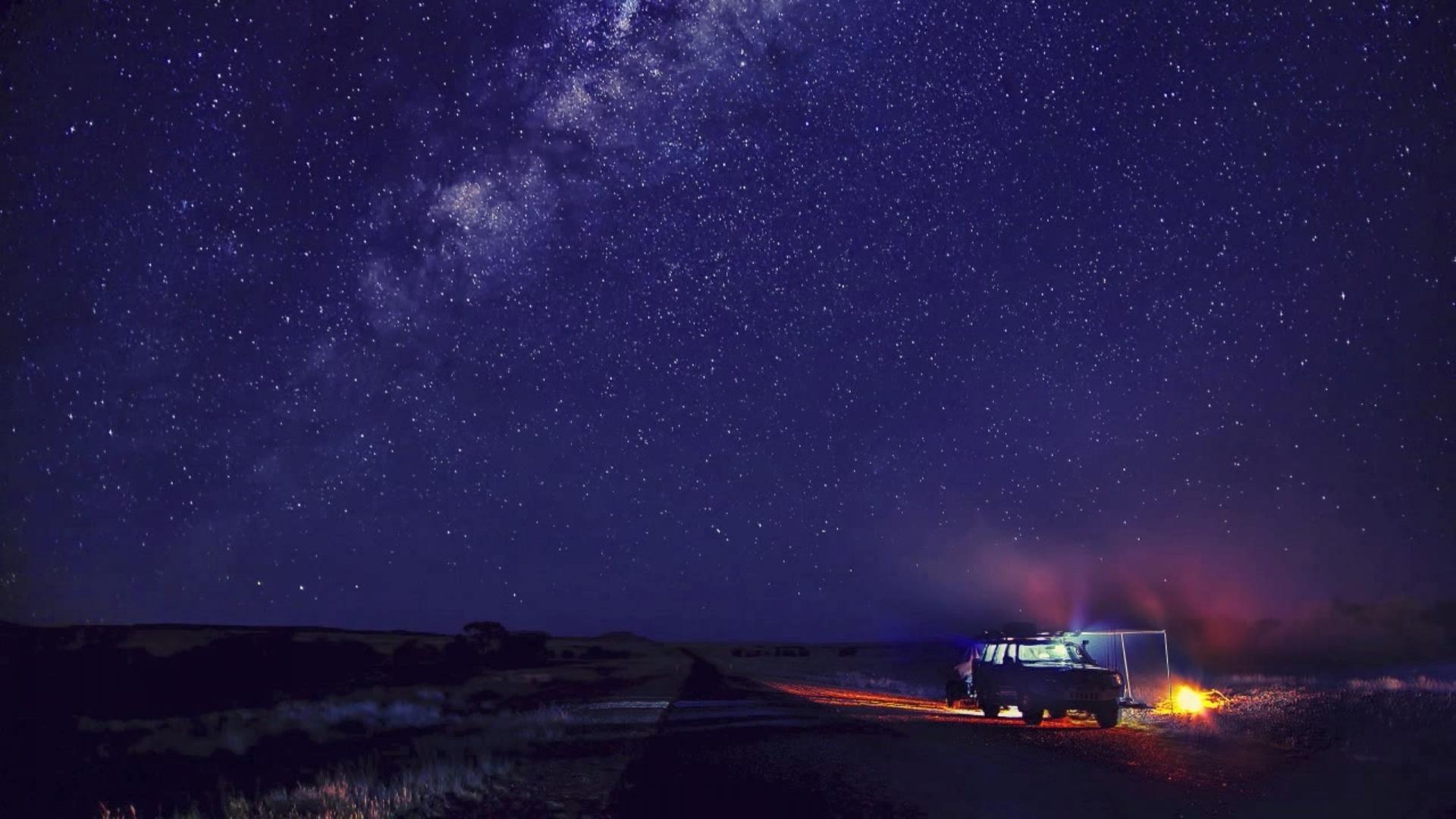 Звездное небо   картинки на рабочий стол телефона (12)