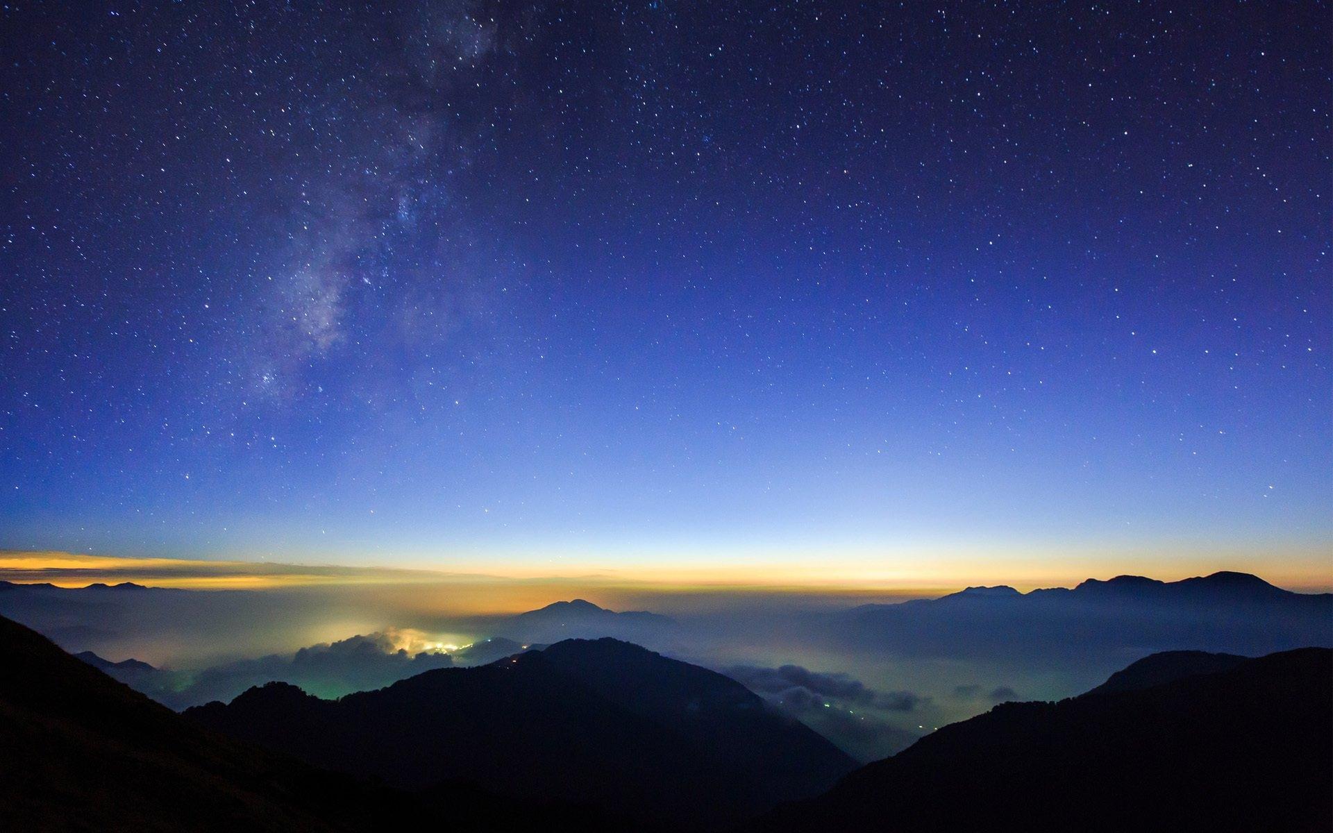 Звездное небо   картинки на рабочий стол телефона (21)