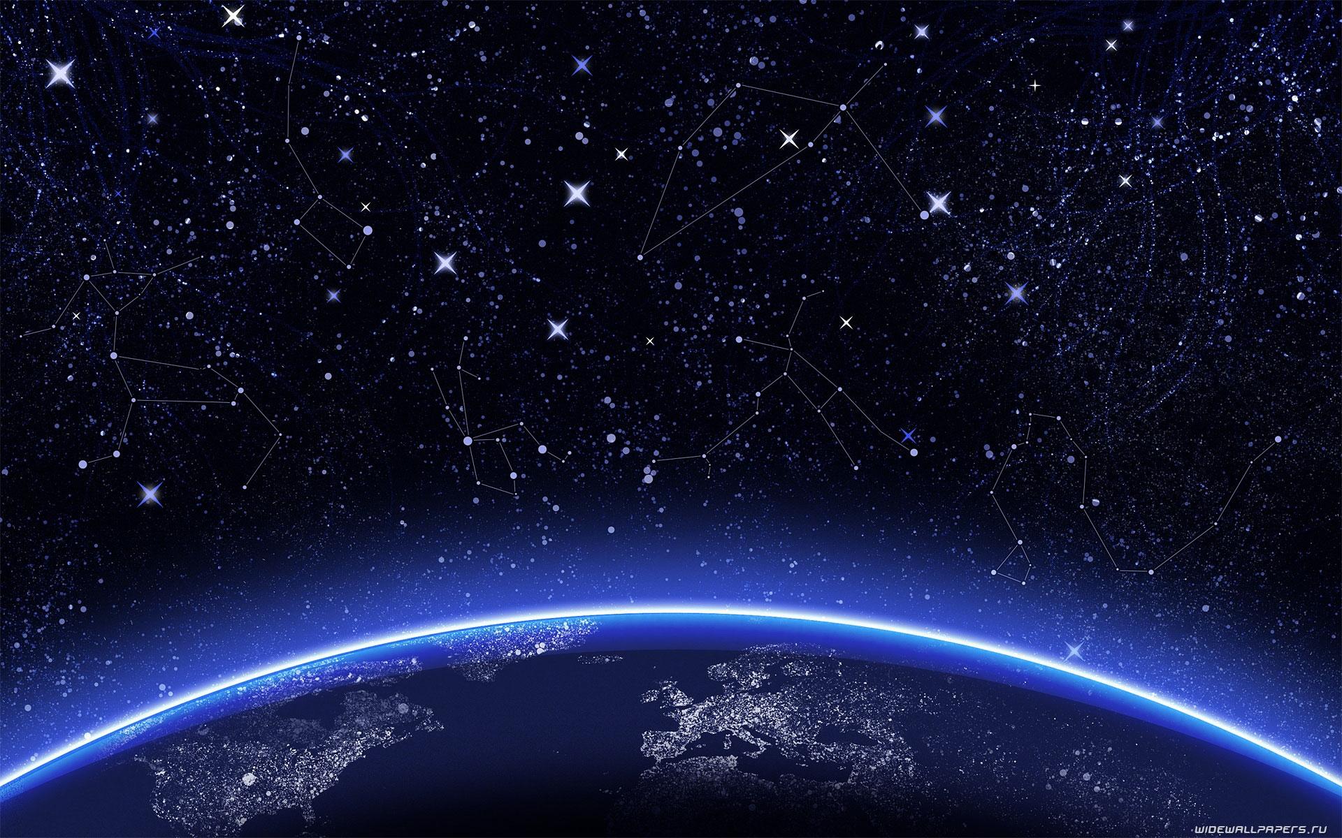 Звездное небо   картинки на рабочий стол телефона (22)
