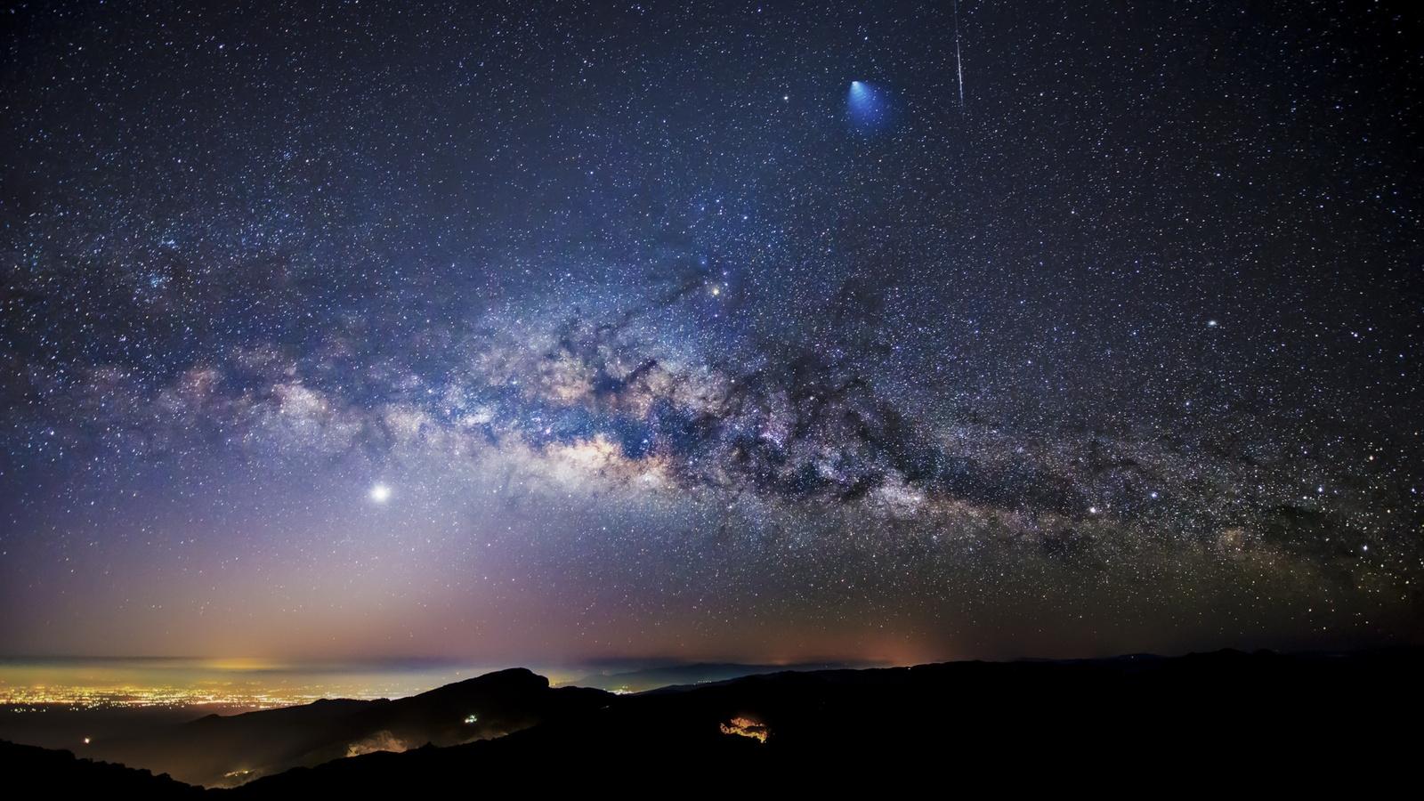 Звездное небо   картинки на рабочий стол телефона (6)